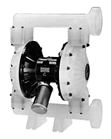 Product Image - Air-Operated Double-Diaphragm Husky 2150 Plastic Pumps