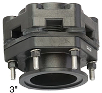 Manifold Bolted Bottom Drain Tank Flanges