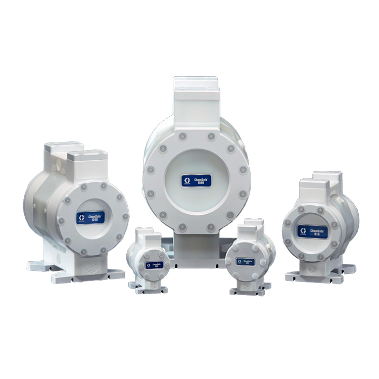 ChemSafe Air Operated Diaphragm Pumps On Springer