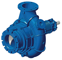 Hidrostal Horizontal End Suction Screw Centrifugal Pump