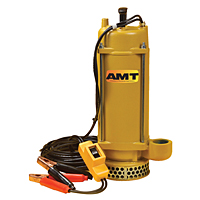 AMT 5890-DC 12 VDC Battery Powered Submersible Pump