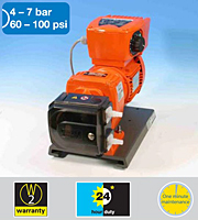 521VI Varmeca-controlled variable <br>speed 60 - 100 psi pumps with 520REHC <br>Loadsure element Pump Head