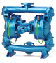 SANDPIPER Containment Duty Bright Blue Pump